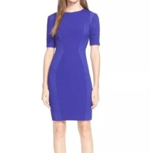 Ted Baker Abrial Mesh Panel Bodycon Dress Size 2